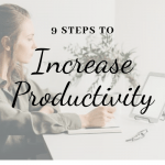 9 tips to increase productivity