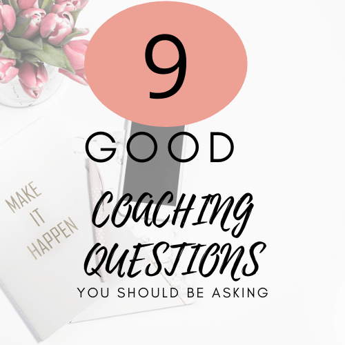 good coaching questions